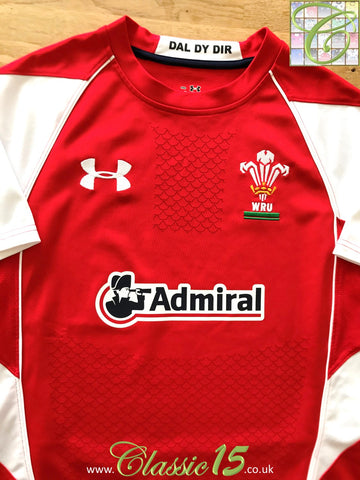 2010/11 Wales Home Rugby Shirt (XL)