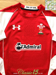 2010/11 Wales Home Rugby Shirt (S)