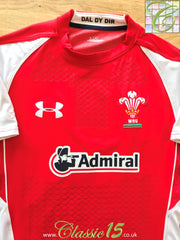 2010/11 Wales Home Player Issue Rugby Shirt (L)