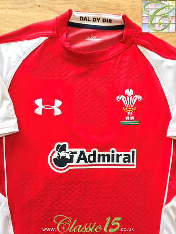 2010/11 Wales Home Player Issue Rugby Shirt (M)