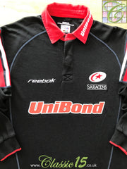 2002/03 Saracens Home Rugby Shirt (XS)