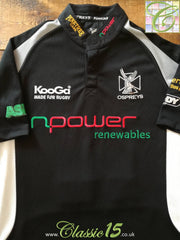 2005/06 Ospreys Home Rugby Shirt (S)
