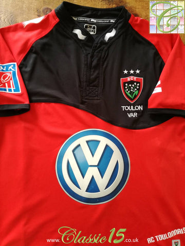 2011/12 RC Toulon Home Rugby Shirt (L)