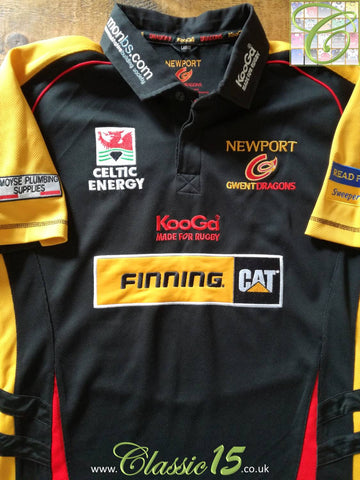2007/08 Newport Gwent Dragons Home Rugby Shirt (S)