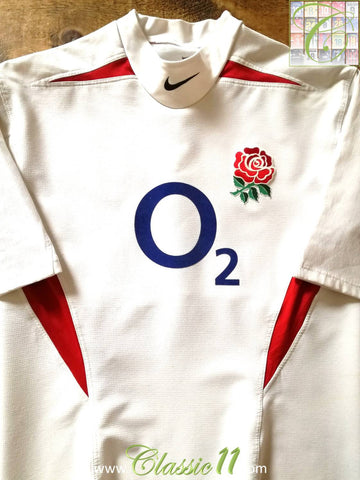 2003/04 England Home Pro-Fit Rugby Shirt (XL)