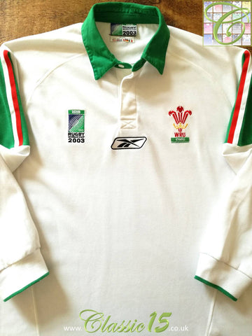 2003 Wales Away World Cup Rugby Shirt. (L)