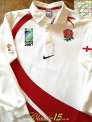 2007 England Home World Cup Rugby Shirt (XL)