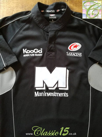 2004/05 Saracens Home Rugby Shirt (L)