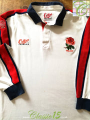1992/93 England Home Rugby Shirt (L)