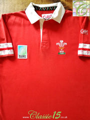 1995 Wales World Cup Home Rugby Shirt (M)