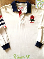 1991 England Home World Cup Rugby Shirt (M)
