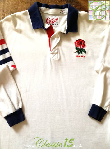 1991 England Home World Cup Rugby Shirt (B)