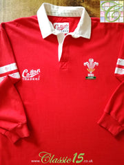 1995/96 Wales Home Rugby Shirt (S)