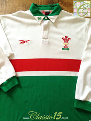 1998/99 Wales Away Rugby Shirt. (L)