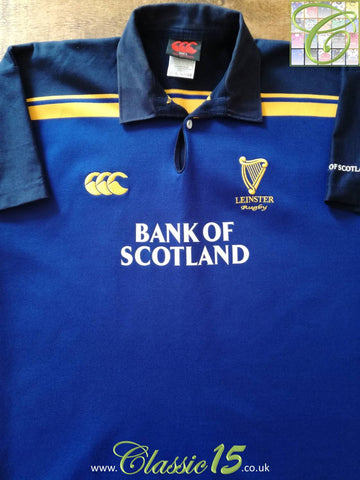 2003/04 Leinster Home Rugby Shirt (L)