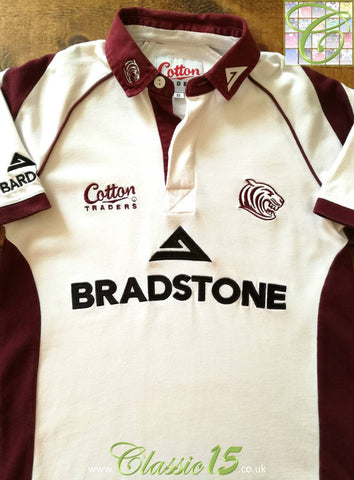 2006/07 Leicester Tigers Away Rugby Shirt (Size 14) (S)