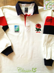 1995 England Home World Cup Rugby Shirt (L)