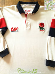 1995/96 England Home Rugby Shirt. (M)