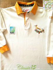 1995 South Africa Away World Cup Rugby Shirt (M)