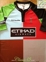 2011/12 Harlequins Home Rugby Shirt (L)