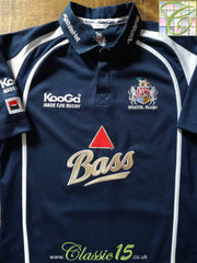 2006/07 Bristol Home Rugby Shirt (L)