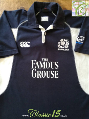 2005/06 Scotland Home Rugby Shirt (M)