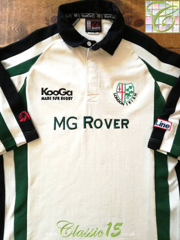 2001/02 London Irish Away Rugby Shirt (L)