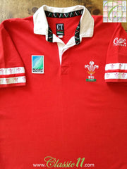 1995 Wales Home World Cup Rugby Shirt (XL)