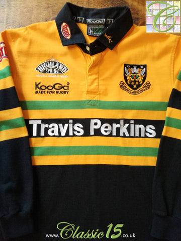 2002/03 Northampton Saints Away Rugby Shirt (S)