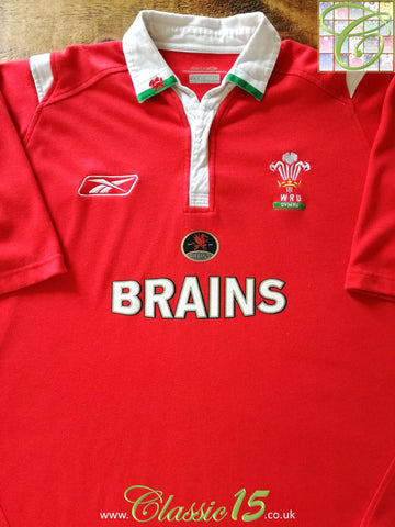 2004/05 Wales Home Rugby Shirt (M)
