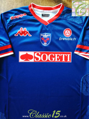 2013/14 Grenoble Home Rugby Shirt (XXL)