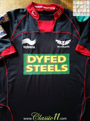 2012/13 Scarlets Away Rugby Shirt (S)
