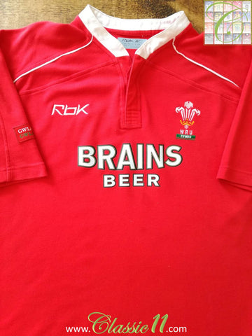 2006/07 Wales Home Rugby Shirt (M)