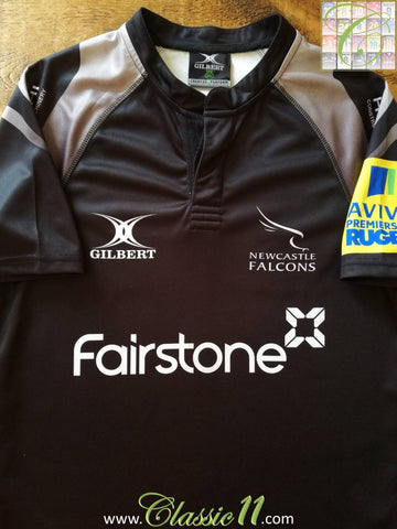 2014/15 Newcastle Falcons Home Rugby Shirt (M)