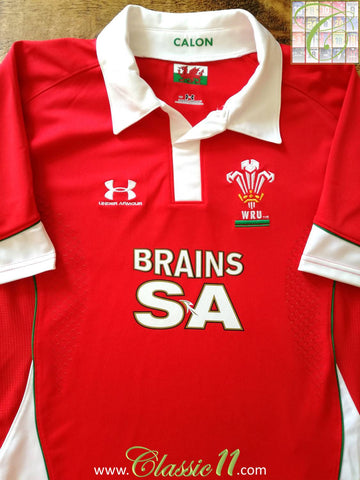 2008/09 Wales Pro-Fit Rugby Training Shirt (L)