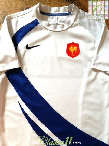 2007/08 France Away Pro-Fit Rugby Shirt (M)