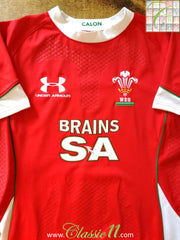 2008/09 Wales Home Player Issue Rugby Shirt (M)