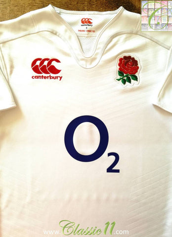 2014/15 England Home Rugby Shirt (S)