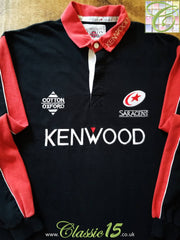 1999 Saracens Home Rugby Shirt (XL)