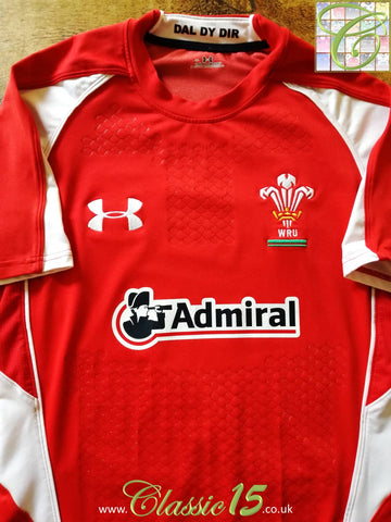 2010/11 Wales Home Pro-Fit Rugby Shirt (XL)