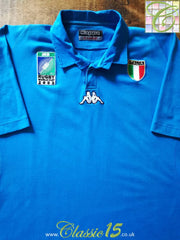 2003 Italy Home World Cup Rugby Shirt (XL)