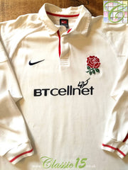 1999/00 England Home Rugby Shirt. (L)