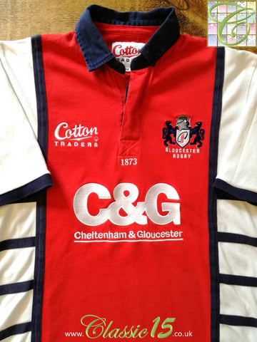 2005/06 Gloucester Home Rugby Shirt (XL)