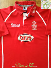 2002/03 Llanelli Home Rugby Shirt (L)