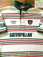 2014/15 Leicester Tigers Leisure Rugby Shirt (L)