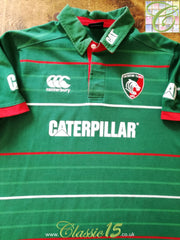 2014/15 Leicester Tigers Home Rugby Shirt (S)