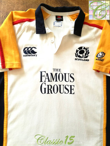 2005/06 Scotland Leisure Rugby Shirt (L)