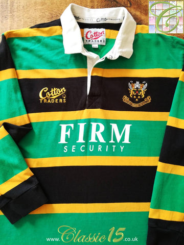 1996/97 Northampton Saints Home Rugby Shirt (XXL)