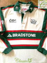 2002/03 Leicester Tigers Away Rugby Shirt. (L)
