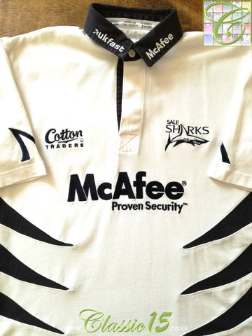 2006/07 Sale Sharks Away Rugby Shirt (M)